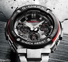 CASIO G-SHOCK SOLAR WATCH WATCH MAN RADIO COCKPIT 200 M GST-W100D-1A4ER