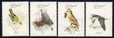 Portugal (Madère) neuf sans charnière 1987 oiseaux rares Lot de 4