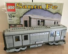 Lego Eisenbahn, Santa Fe Waggon, Modell 10025, gebaut, unbespielt