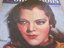 January 1934 True Confessions Magazine with Sylvia Sydney Cover