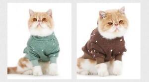 Autumn Cat Clothing Winter Cat Hooded Coat Pet Keep Warm Jacket Cat Supplies