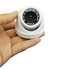 "700TVL Mini Dome Camera CCTV Indoor Security 1/3"" Sony Effio 12 IR Night Vision"