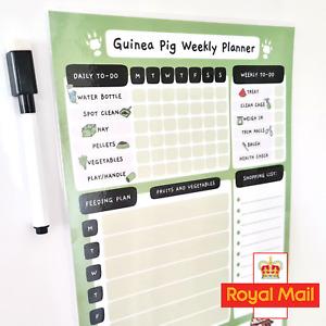 Guinea Pig Magnetic Checklist Planner