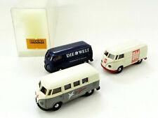 Brekina 9021 VW Bus T1 Kasten Transporter Set 3-tlg. Die Welt, Bild, Stern 1:87