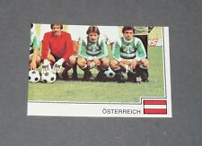 PANINI FOOTBALL EURO FOOTBALL 79 1978-1979 N°335 RAPID WIENERBERGER ÖSTERREICH