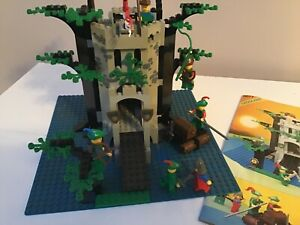 6077 LEGO Forestmen's River Fortress with instructions  -  Thames Hospice