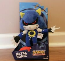 Tomy Metal Sonic 12 Inch Plush Stuffed Hedgehog Kid Soft Toy Collectible New Box
