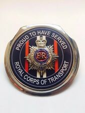 Royale 3D Car Grill Badge - ROYAL CORPS OF TRANSPORT PROUD - B23D1