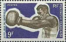 Timbre Sports Boxe Polynésie 66 ** lot 11832