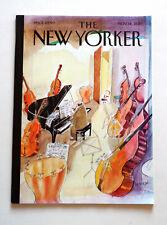 Revue The New Yorker. 14 novembre 2011. Couverture : J.J. Sempé.