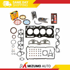 Full Gasket Set Bearings Rings Fit 02-06 Nissan Altima Sentra 2.5 QR25DE