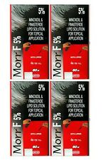 4X Pack Morr F 5% Hair Regrowth DHT blocker FDA approved 60ml Free Shipping