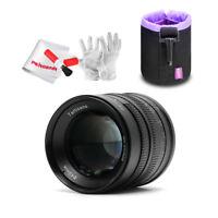 7artisans 55mm/f1.4 Manual Lens Fr Sony E-mount A6000L NEX-6 NEX-6L NEX-6R+ Gift