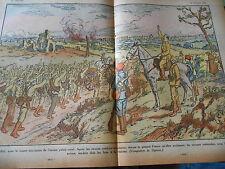 Espagne Le Général Franco troupes nationales levent les bras dessin Print 1936
