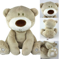 "9""GIANT EXTRA Cute STUFFED ANIMAL Light Brown TEDDY BEAR PLUSH SOFT X-mas TOY"