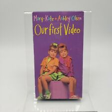 Mary-Kate & Ashley Olsen Our First Video  VHS VCR Video Tape Movie Used