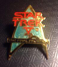 Star Trek The Final Frontier Pin Back