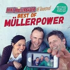 CD: BEST OF MÜLLERPOWER - Mike Müllerbauer & Band - Kinderlieder *NEU* °CM°
