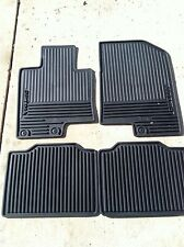 NEW OEM 2011-2013 KIA OPTIMA ALL WEATHER RUBBER FLOOR MATS