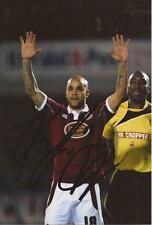 NORTHAMPTON: LEON McKENZIE SIGNED 6x4 ACTION PHOTO+COA