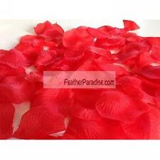 Red Artificial Silk Rose Petals/ Wedding Petals  -100pcs (GA, USA)
