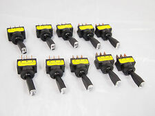 10 x RED LED Toggle Switch On/Off High Quality 12V 20A tip Car truck SUV HID