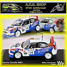 Toyota Corolla WRC Rallye Acropolis 1998 #14 R. Madeira N. da Silva 1:43