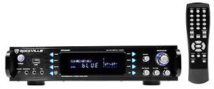Rockville RPA60BT 1000 Watt Home Theater Receiver w/ Bluetooth/Tuner/USB/Mixer