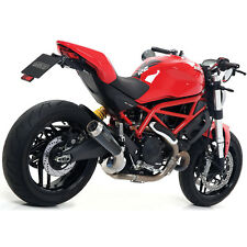 DUCATI MONSTER 797 2017 > SCARICO ARROW PRO RACE NICHROM DARK COPPA INOX NO KAT