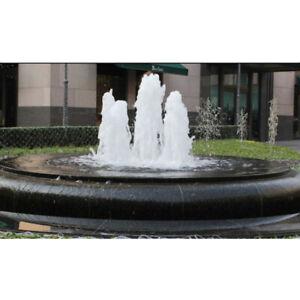 1/2'' Brass Cedar Type Hemisphere Fountain Nozzle Sprinkler Spray Head