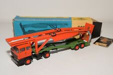 < LION CAR DAF 2800 TRUCK WITH TRAILER CAR CARRIER AUTO TRANSPORTER EXC. BOXED