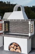 Gartengrill Steingrill Holzkohlegrill Barbeque Naturstein Verblender 0,90m breit