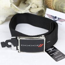 Dodge // red Rhombus logotipo web Belt nylon Cinturón textil cinturón alcance hasta 125cm