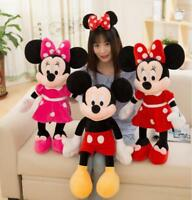 Hot Brand Jumbo Mickey Minnie Mouse BIG Plush Kids Birthday Toys Doll Xmas Gift