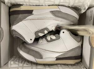 Nike Air Jordan x A Ma Maniere Retro 3 Toddler TD Size 9C DJ0719-110 New