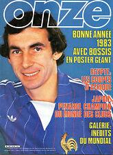 magazine ONZE année 1983