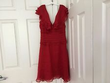 NWT Babe 100% Silk Cocktail Dress Size 6
