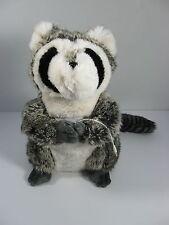 Pottery Barn Raccoon Rockin Plush Speaker Faux Fur Animal Plush