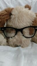 Childs Vintage Black Eyeglasses with case Buddy Holly style 1940-50s?