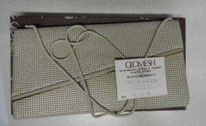 GLOMESH Cream Bag with Original Purchase Card 1982 BNIB