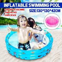 Water Pool Inflatable Paddling Pool Swimming Pool for Kids Family Outdoor Garden