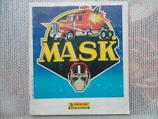 Album Panini Mask original complet sauf poster* images autocollantes
