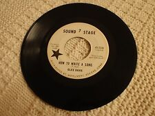 TEEN GLEE DAVIS  HOW TO WRITE A SONG/WAIT FOR ME TO GROW UP SOUND STAGE 7   2546