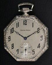 Running South Bend Grade 429 Model 1 19 Jewel 14K Gold Filled Pocket Watch