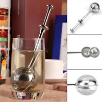 Stainless Steel Tea Infuser Ball Mesh Loose Leaf Strainer Filter Steeper CQ1905