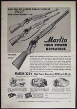1949 Marlin 336 Repeaters Carbine Rifle 30/30 & .32 cal. Magazine AD