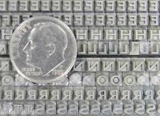 Alphabets Letterpress Print Type Import  (Stempel) 10pt LARGO   MM48  4#