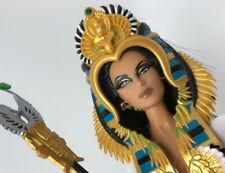Barbie As Cleopatra Doll Fantasy Collection Designed by Linda Kyaw 2010 W/ Staff