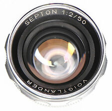 Voigtlander 50mm f2 Septon  #5382243