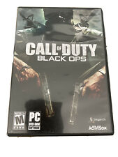 Call of Duty Black Ops PC Game DVD ROM Windows